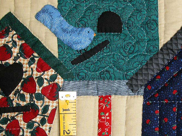 Red Bird Houses Wall Hanging Photo 4