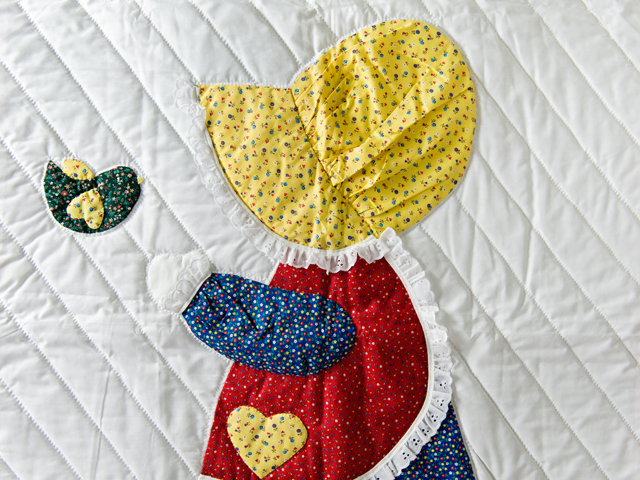 Little Dutch Girl Crib Quilt Photo 5