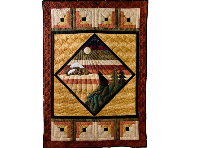 Howling Wolf Quilt Photo 1