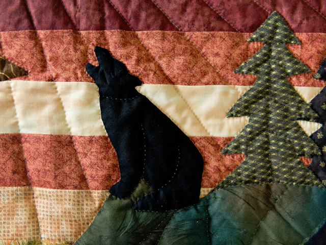 Howling Wolf Quilt Photo 5
