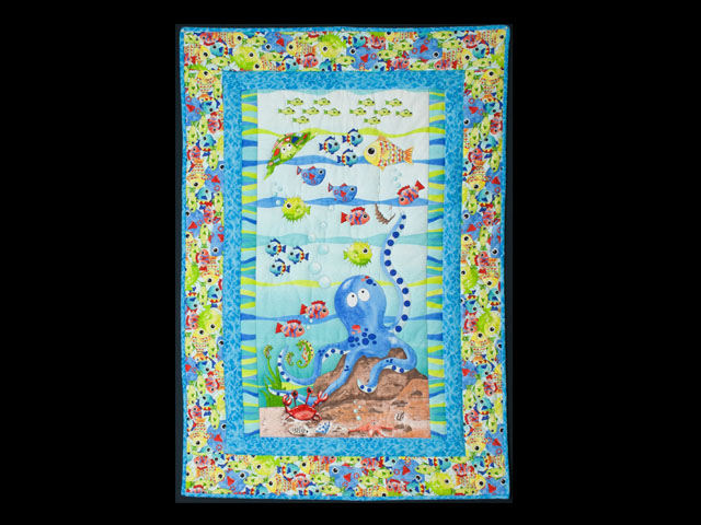 Octopus Crib Quilt Photo 1