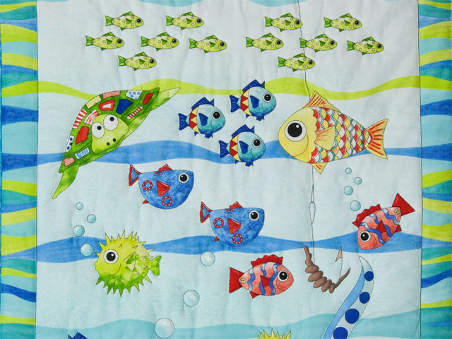 Octopus Crib Quilt Photo 3