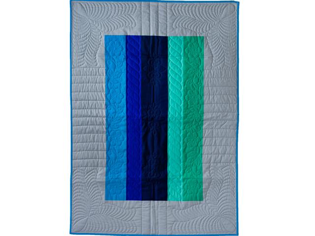 Color Palette Crib Quilt Photo 1
