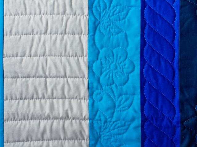 Color Palette Crib Quilt Photo 5