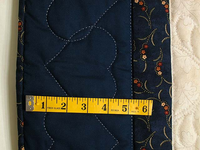 Navy and Burgundy Lone Star Quilt Photo 4