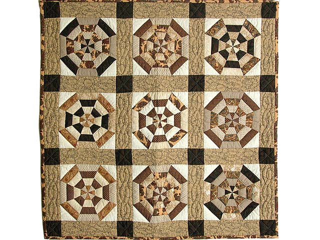 Brown and Neutrals Serendipity Wall Hanging Photo 1