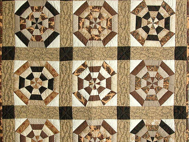 Brown and Neutrals Serendipity Wall Hanging Photo 2