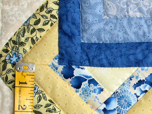 Blue and Yellow Star Spin Wall Hanging Photo 4