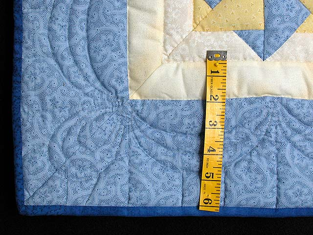 Blue and Yellow Star Spin Wall Hanging Photo 5