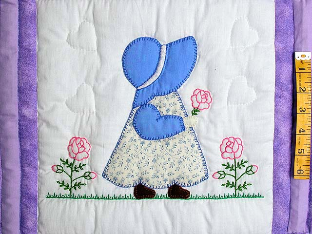 Amish Children Crib Quilt Photo 3