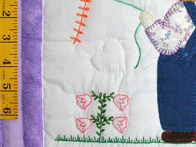Amish Children Crib Quilt Photo 5