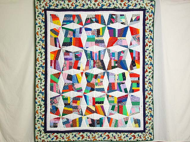 Crazy Quilt Throw Photo 1