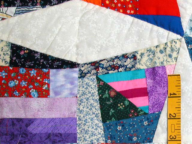 Crazy Quilt Throw Photo 4