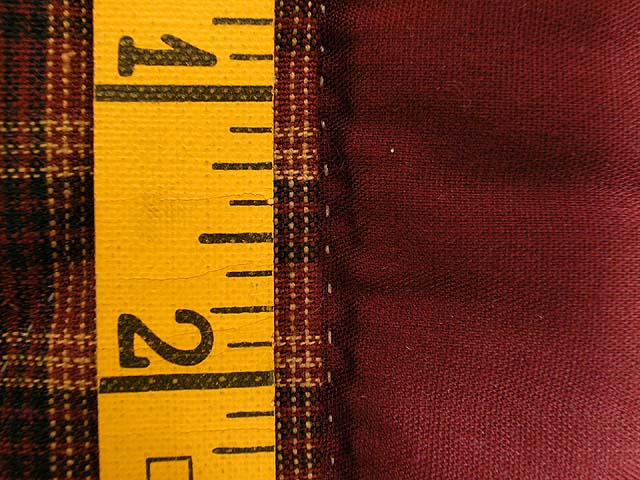 Burgundy Navy and Tan Star Spin Wall Hanging Photo 7