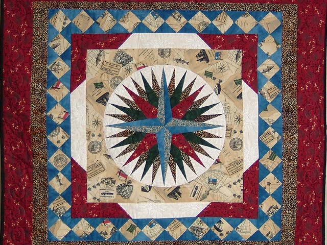 Old World Compass Wall Hanging Photo 2