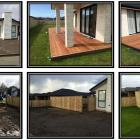 Kwila deck and timber fence and gate