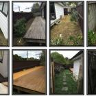 Deck extension and yard tidy up for sale