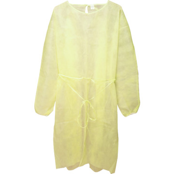 480-7000XXLY Jero Medical, Gown Isolation Yellow Disposable ...