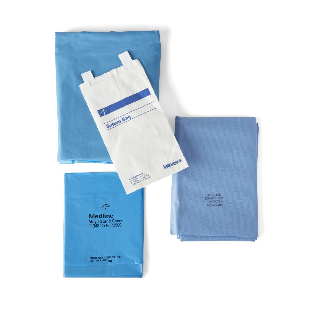 Medline Industries, DYNJP1010, Sterile Basic Surgical Pack III, Eclipse