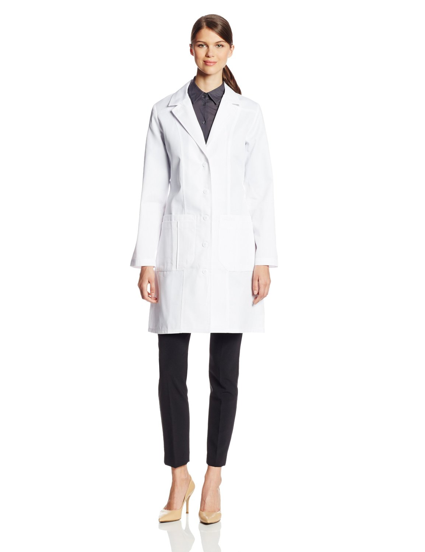 3487 Fashion Seal, Lab Coat Ladies Fashion 65/35 Poly/ Cotton ...