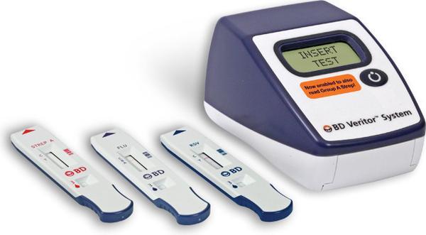 Bd Veritor System Strep A Test Kit Clia Waived 30 Test Kit