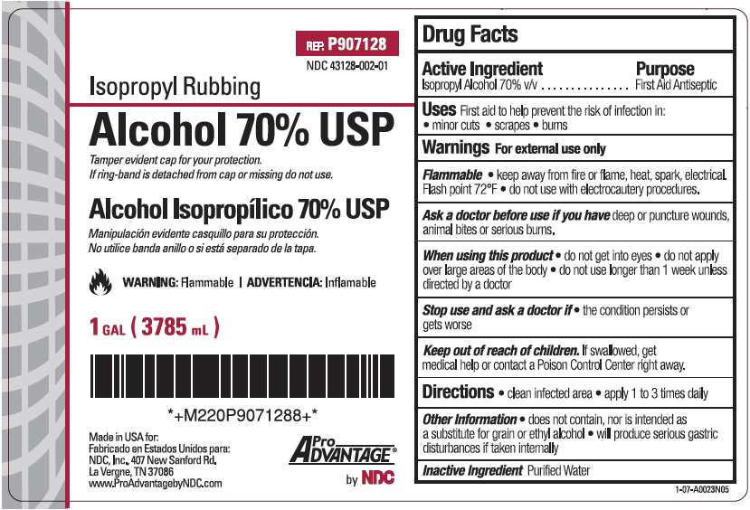 how to drink isopropyl alcohol