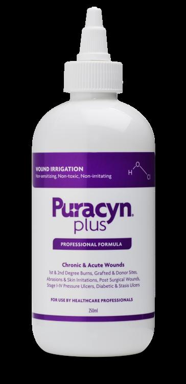 Wound & Skin Solution,Innovacyn 6508, Puracyn Plus Wound Irrigation,Twist  Cap 8oz/250ml