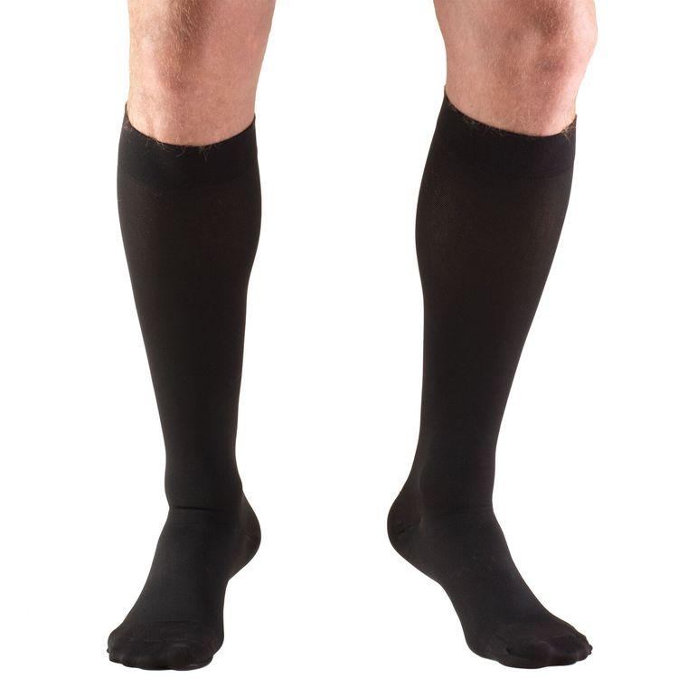 fb5da21333ee Stocking, Truform Compression, Anti-Embolism, Knee High, Large, Beige,  #8845-L