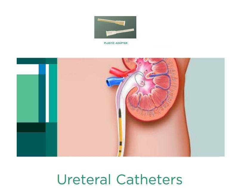 ureteral catheter plastic adapter