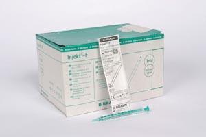 Syringe 1ml Luer Slip Low WasteInjekt