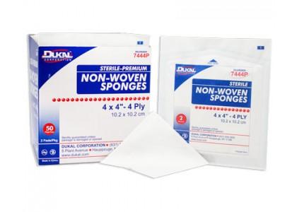 """Gauze Sponge, Dukal Corporation 2104, 4"""" X 4"""", Non-Sterile, 4-Ply, 200/Bg, 10 Bg/cs"""