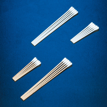 Deroyal,30-354, Cotton Tipped Applicators, Plastic, 6in