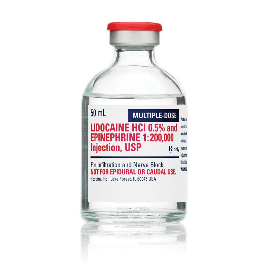lidocaine hcl 1 hospira msds