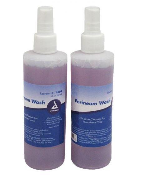 Perineum Wash, Dynarex Corporation 4850, 8 oz