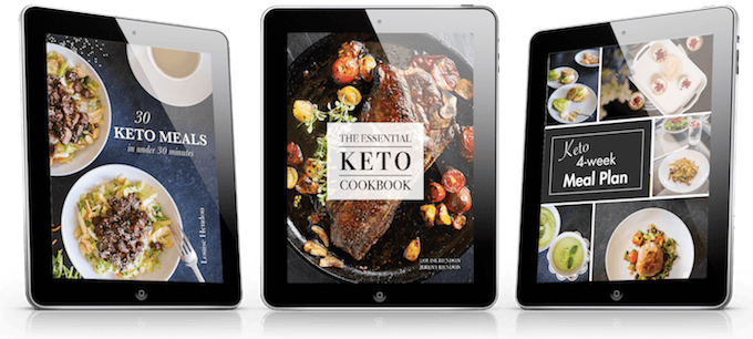 Keto cookbook bundle