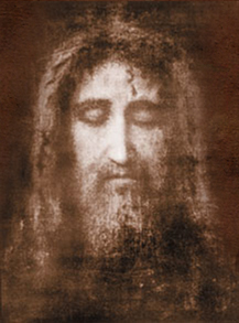 The Holy Face Of Jesus –Taken from the Shroud of Turin