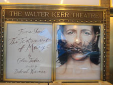 Lower Marquee at Walter Kerr Theater