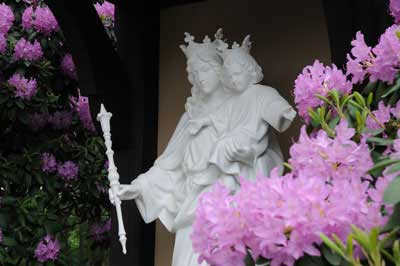 Statue of Our Lady Help of Christians at ANF Headquarters