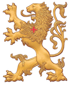 Proprietary image of TFP's rampant lion.