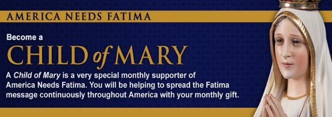 Welcome to America Needs Fatima | ANF