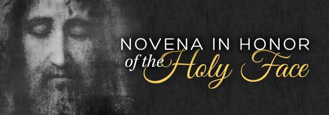 Header-Novena to the Holy Face of Jesus