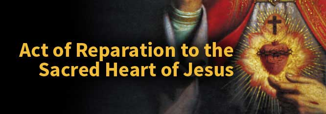 Header-Act of Reparation to the Sacred Heart of Jesus