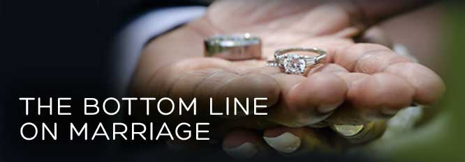 Header-The Bottom Line on Marriage
