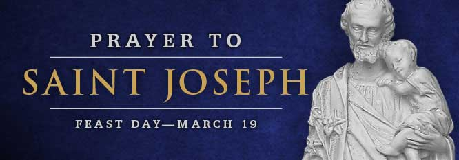 Header - Prayer to St Joseph