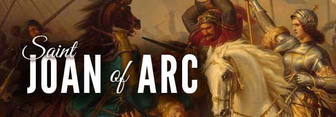 St Joan of Arc Header