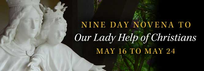 Header-Novena to Our Lady Help of Christians