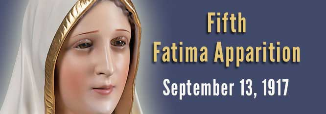 Header-Fifth Fatima Apparition