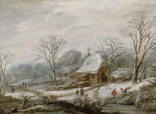 Wintry Cottage