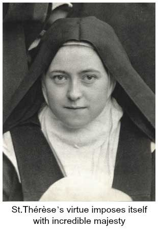 St Therese as a nun