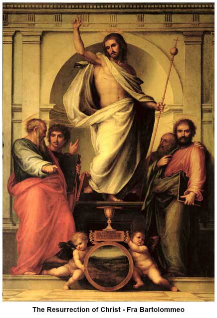 Fra Bartolommeo - The Resurrection of Christ